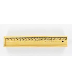 De madera caja de lápices de Córcega