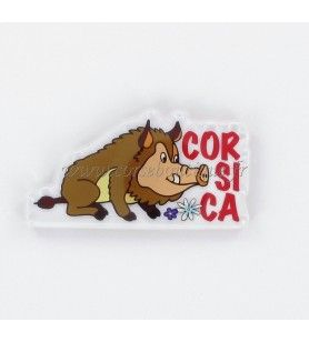 Magnet crystal wild Boar Corsica HD 505T