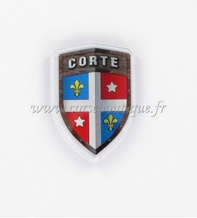 Magnet crystal HD Coat of arms CORTE
