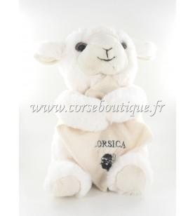 Schaf mit kuscheltier