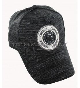 Schwarze Briefmarke Cap