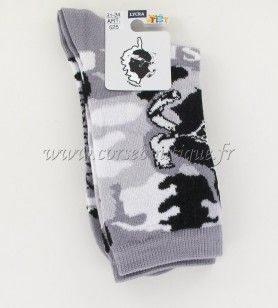 Sokken N° 6 Kaart+Moor ' s Hoofd