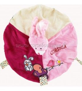 Doudou Rabbit Pink New Model Corsica