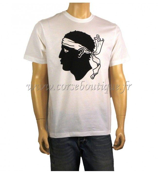 T-Shirt básica Cabeza de Moro Grande
