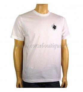 T-Shirt basic Logo-Kaart, en het Hoofd van een Moor  - 2