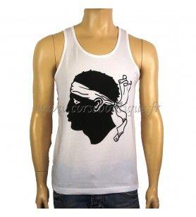 Camiseta de tirantes básica Cabeza de moro grande 11