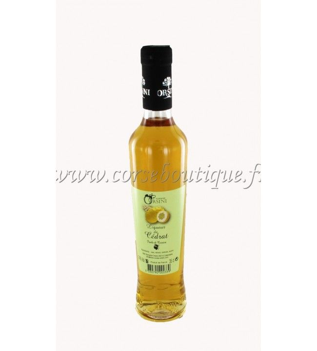 Liqueur de Cédrat 35 Cl