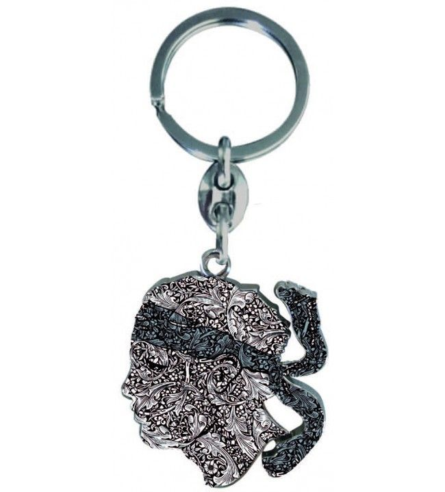 Keychain Head of a Moorish Fantasy