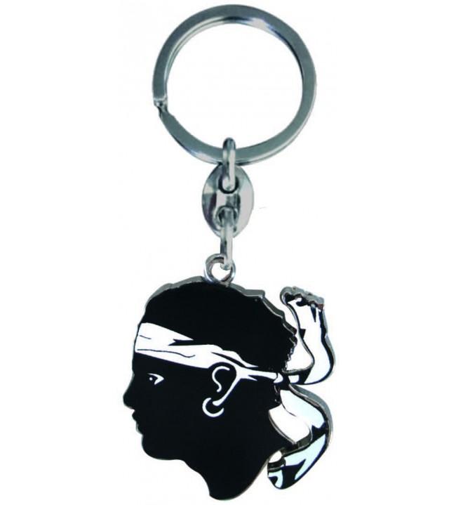 Keychain Head of a Moorish Classic