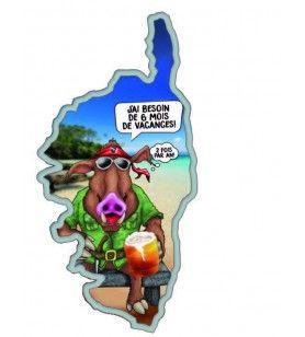 Magnet Wild Boar Humorous