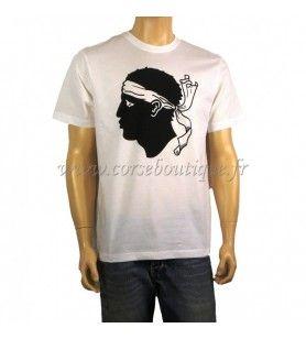 T-Shirt basic-Hoofd van Maure Groot Kind