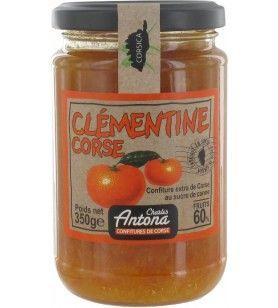 Clementine jam CA 350 GR