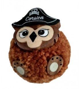 Owl plush magnet