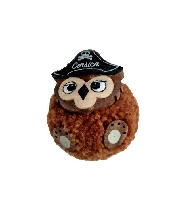 Magnet plush owl