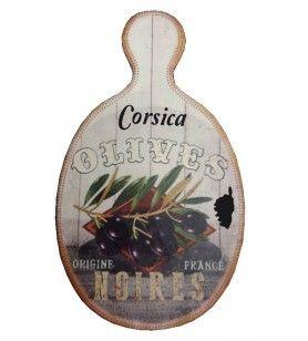 Tabla de corte ovalada - Mantel de mesa Dolomita