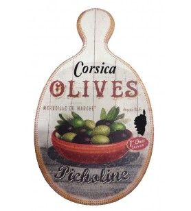Oval cutting board - Dolomite table mat
