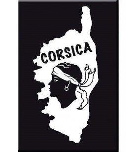 Magneet zachte aanraking kaart Corsica