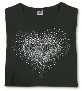 Camiseta Corazón de mujer