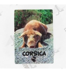Magnet résine cochon