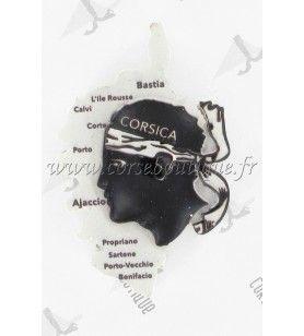 Resin card and Moorish head magnet