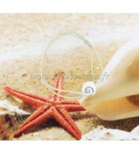 elastisches kabelarmband und auge der heiligen lucie, gefasst in silber  - elastisches kordelarmband mit silberfarbenem auge der