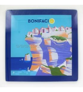 Casa Unterseite der Plat Bonifacio  - Casa Unterseite der Plat Bonifacio Maße: 21 x 21 cm
