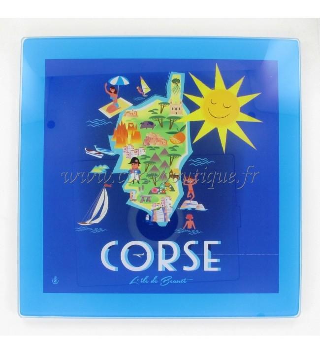 Casa Dessous de Plat Carte Corse
