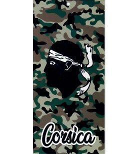 Beach towel microfibre head of Moor camouflaged army  -  Beach towel microfibre head of Moor camouflaged army 150 X 75 cm  Ultra
