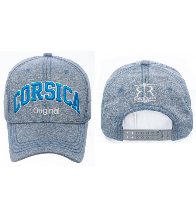 Gorra de Córcega N° 4 azul moteado