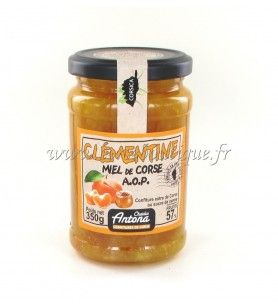 Clementine jam with Corsican honey A.O. P 350 GR  - Clementine jam with Corsican honey A.O. P 350 GR