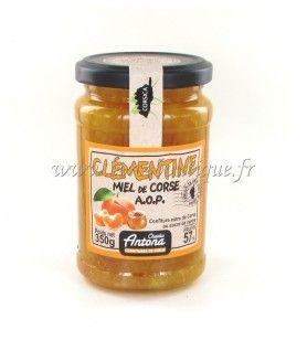 Clementine Marmelade mit korsischem Honig A.O. P 350 GR