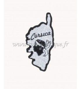 Corsica thermostick geborduurd embleem