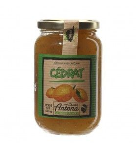 Marmellata di cedro - 350g  - Marmellata con cedro 350g Tipico agrume corso, il cedro apporta alla marmellata la sua amarezza e