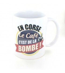 Taza En Córcega el café es una bomba