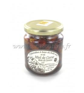 Preparación de avellanas y almendras con miel TRISTANI AOP 230 Gr