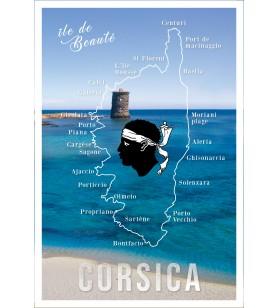 Torchon tour génoîse Corsica