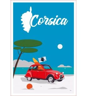 Arredamento Torchon 2 CV Corsica