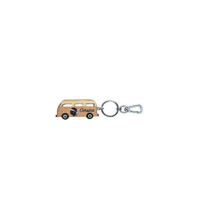 Porte clés van en bois