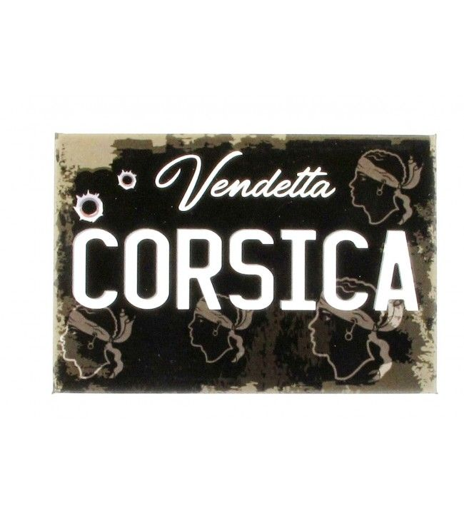 Magnet soft touch Corsica Vendetta