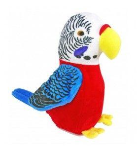 Korsika Papagei Schal wiederholend