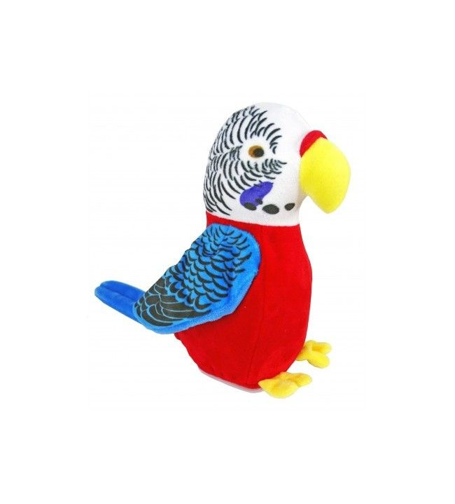 Corsica parrot scarf repeating