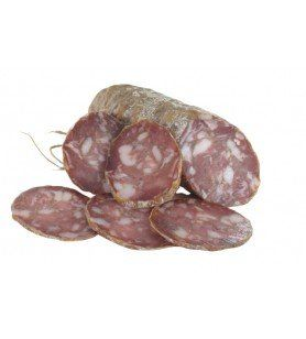 Corsican sausage  - Artisanal Corsican sausage made exclusively from Corsican pork. Lightly smoked over a wood fire and then mat