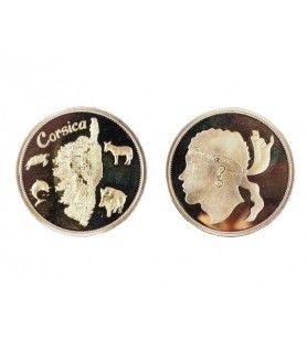 Gold Korsika Sammlung Stück