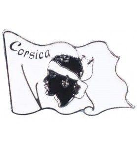 Cabeza de bandera de Pin de Moro