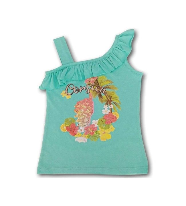 Tee-shirt Tropic fille