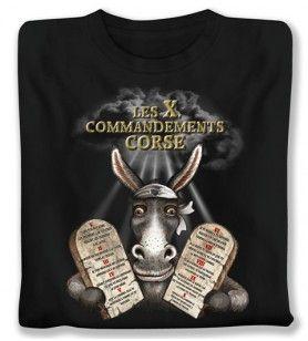 Tee-shirt les 10 enf.