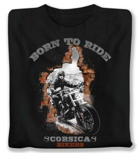 Geboren T-shirt  - 1