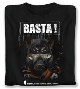 Camiseta Basta