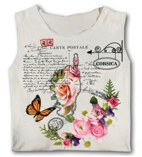 Tank top Letters woman