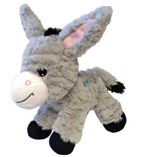 Soft-haired donkey 20 cm embroidered Corsica